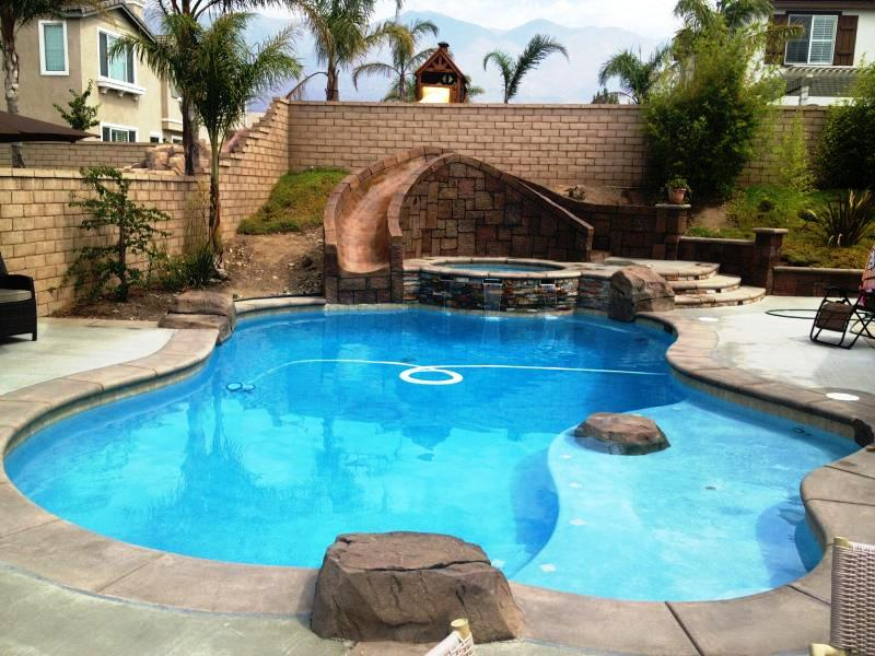 Jl pools plastering coupons near me in yorba linda for Pool showrooms near me