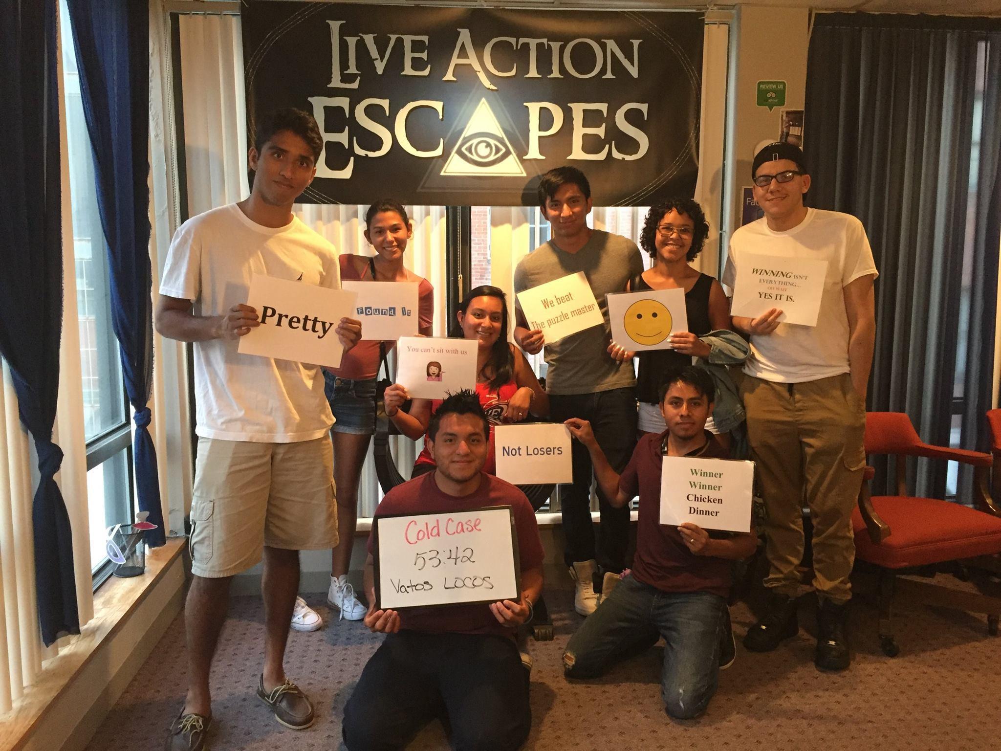 Live Action Escapes image 1