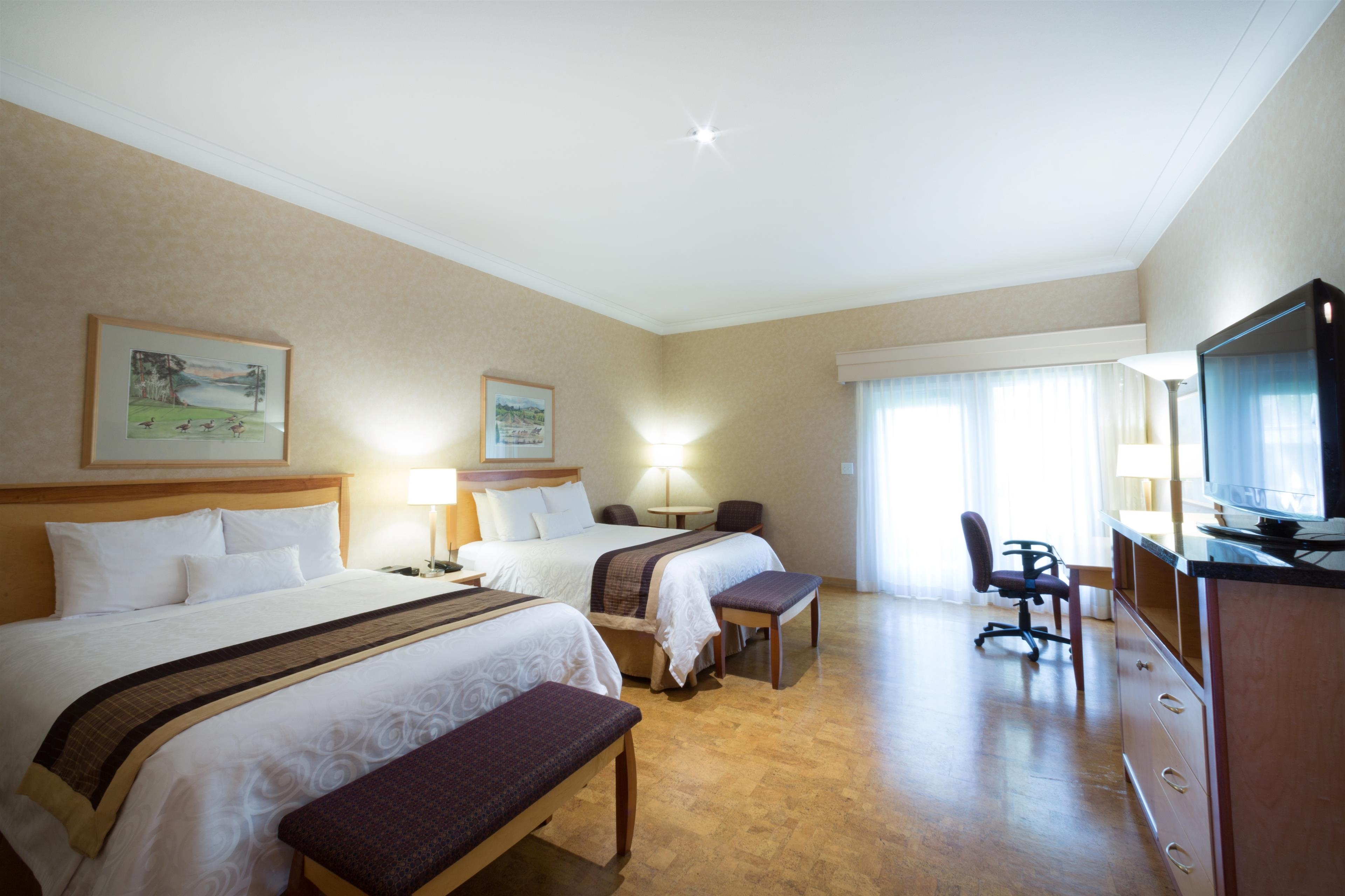 Best Western Plus Kelowna Hotel & Suites in Kelowna: Hypoallergenic cork with 2 Queens