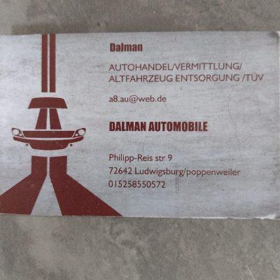 Logo von Dalman Automobile