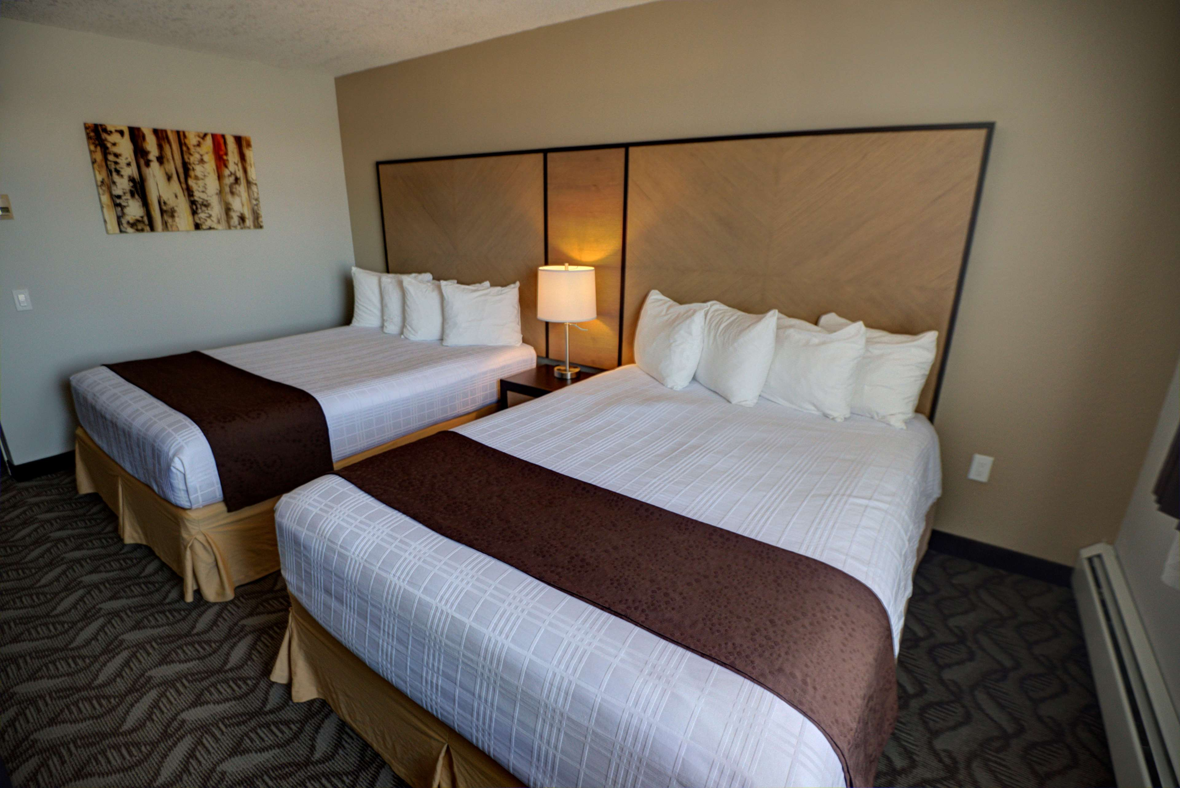 Best Western Airdrie in Airdrie: Double Queen Bed Guest Room