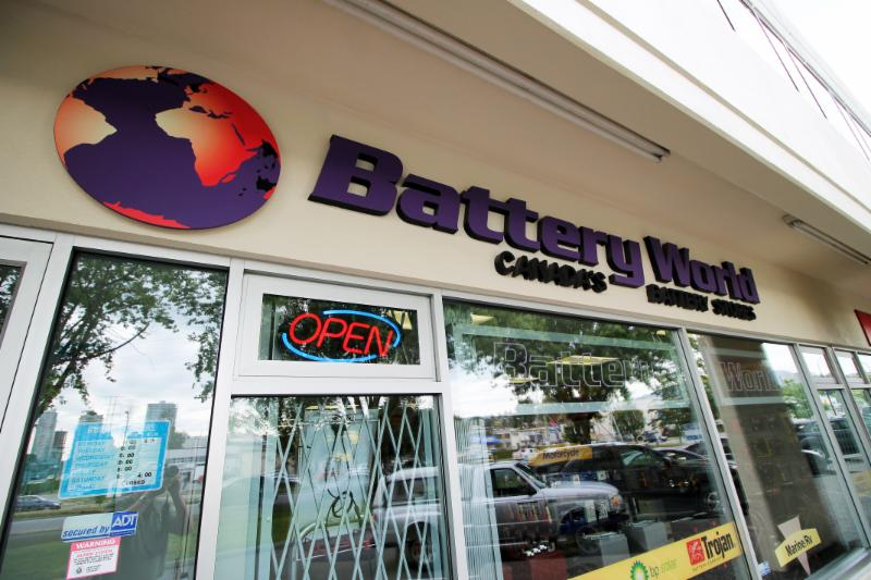 Battery World Corp in Vancouver