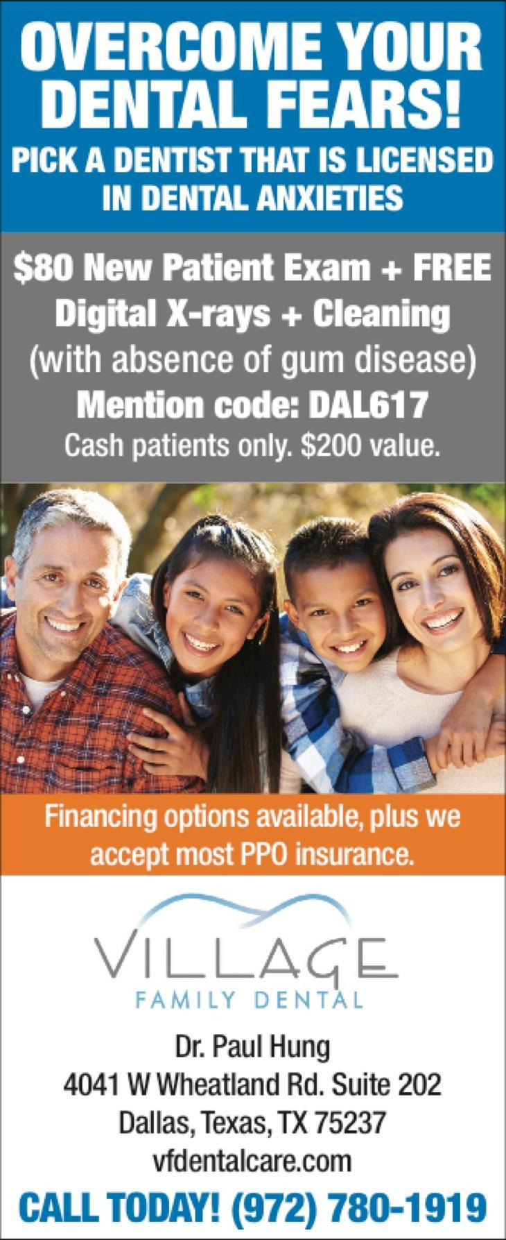 Village Family Dental - Dentist in Dallas, Duncanville