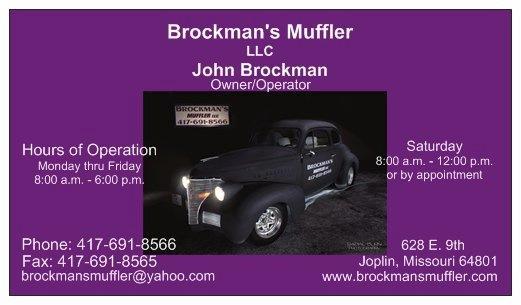Brockman's Muffler image 44