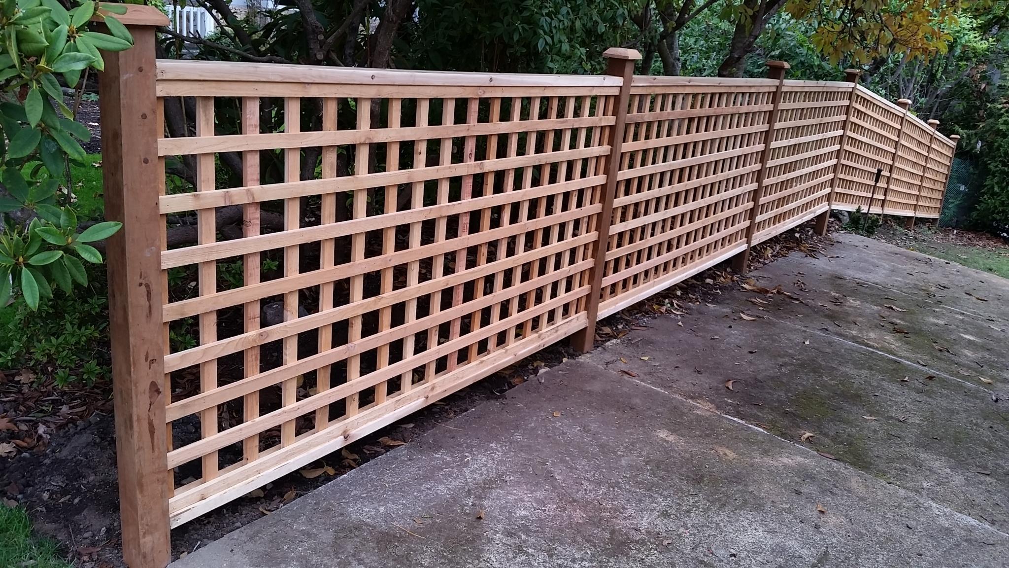 Miller Fence in North Saanich