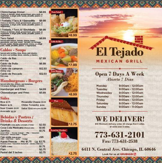 El Tejado Mexican Grill image 0