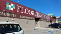 Main entrance to Floorcraft showroom from exterior