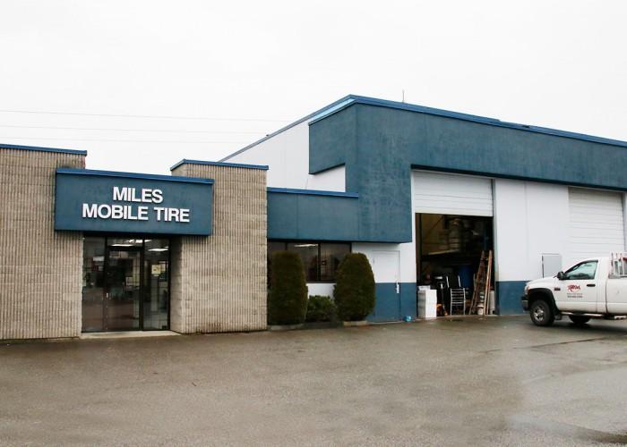 Miles Tire Services Ltd in Port Coquitlam