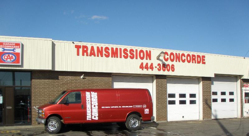 Transmission Concorde Inc à La Prairie