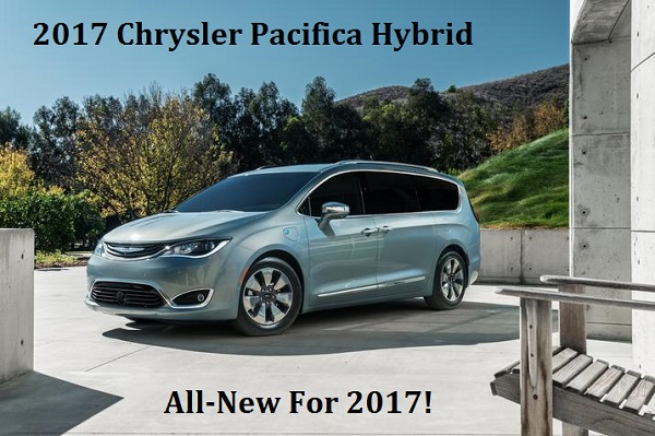 All-New 2017 Chrysler Pacifica Hybrid For Sale in Appleton, WI