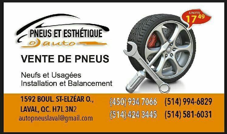 Pneus Et Esthétique Auto