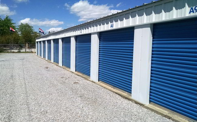10' x 15' Midsize Storage Unit Montgomery Alabama.