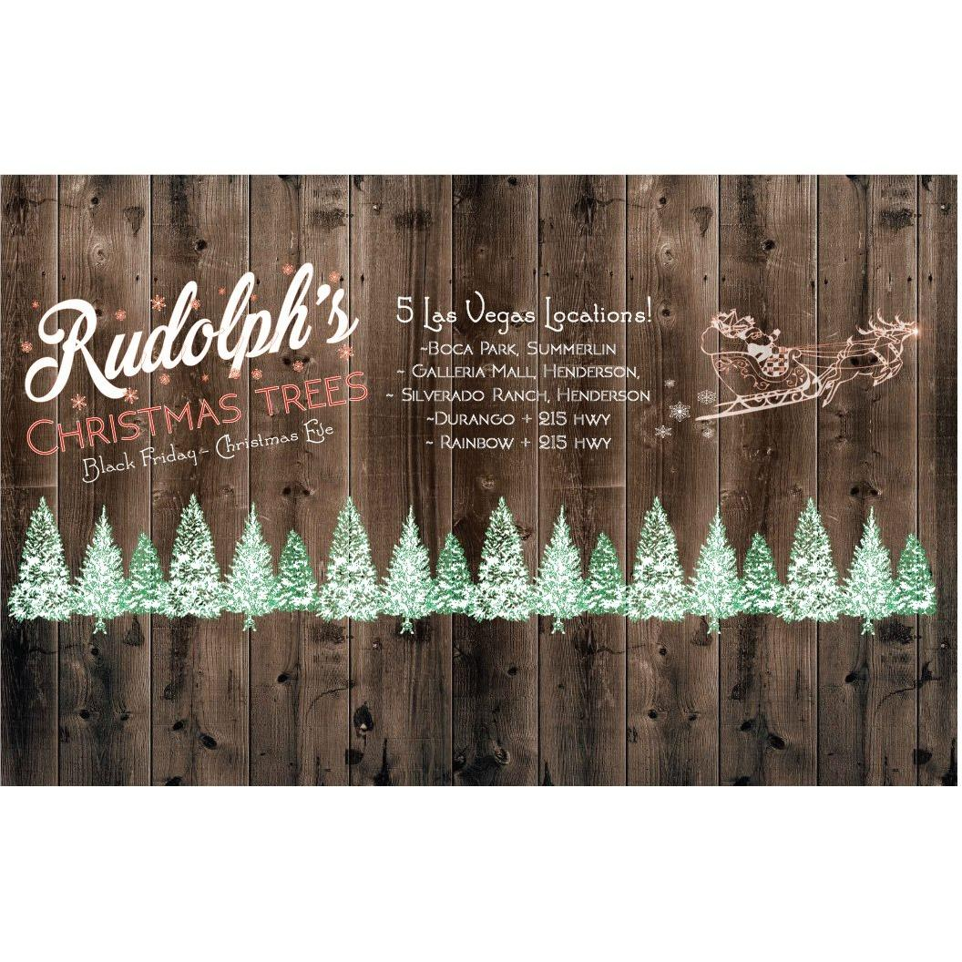 Rudolph's  Christmas  Trees