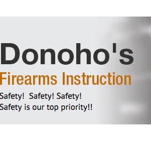Donoho's Firearms Instruction image 1