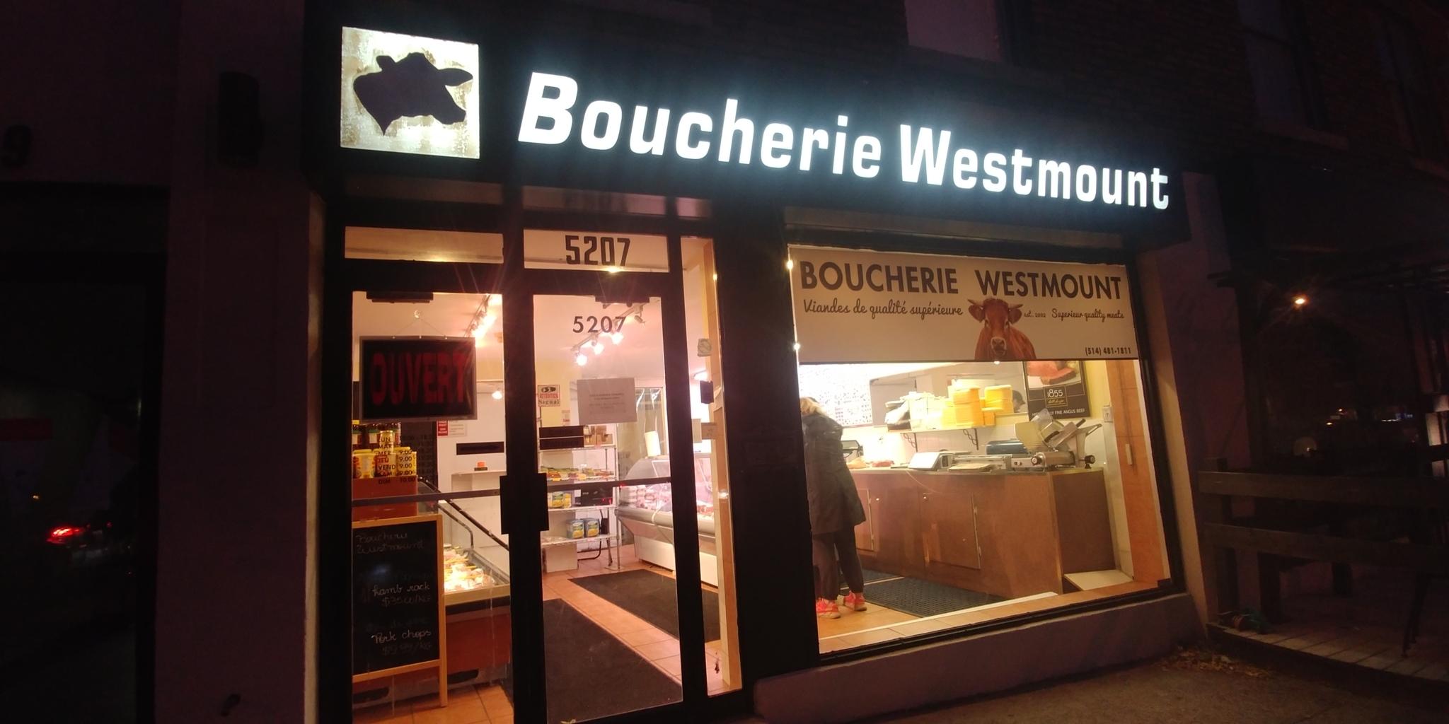 Boucherie Westmount