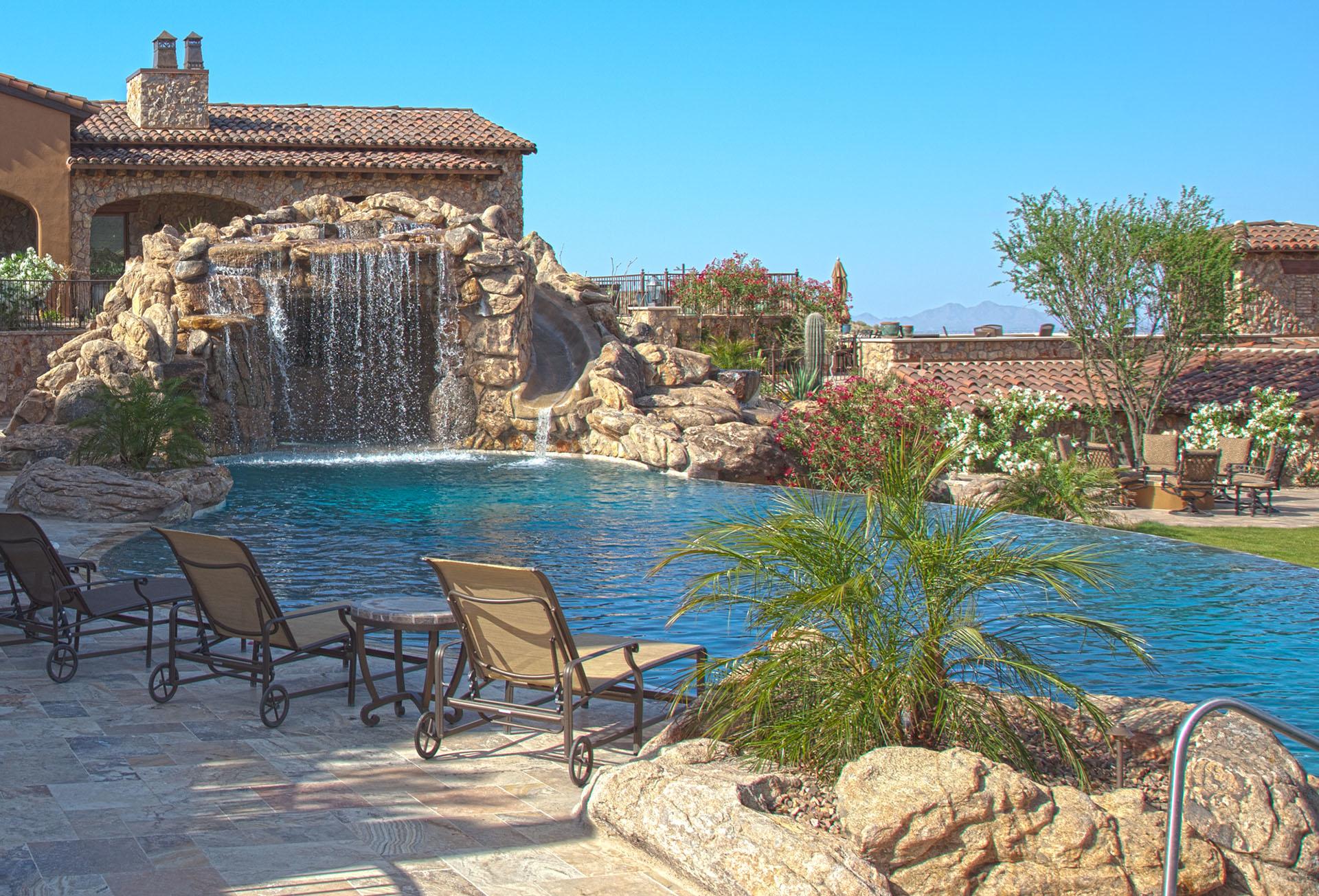 No limit pools spas in mesa az 602 421 9 for Pools in mesa az