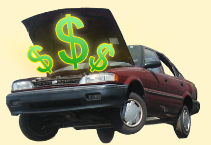 We pay cash for your junk cars!