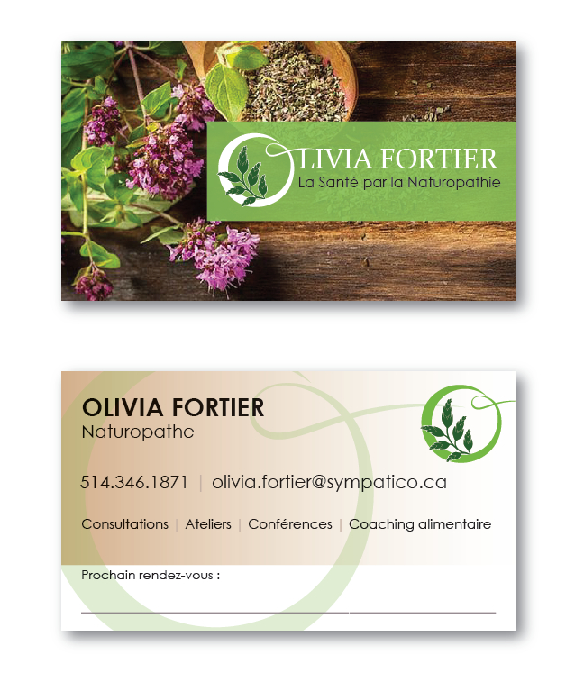 Olivia Fortier Naturopathe