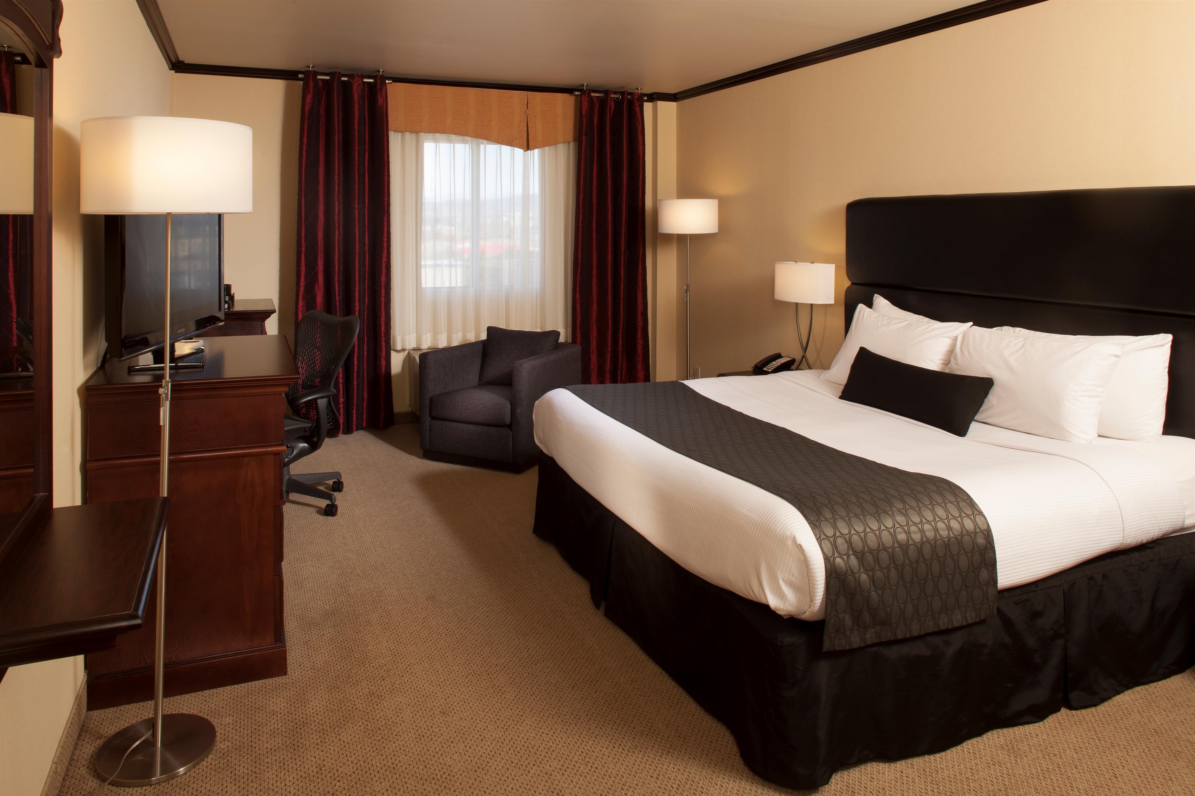 Best Western Plus City Centre/Centre-Ville à Quebec: Deluxe King Guest Room