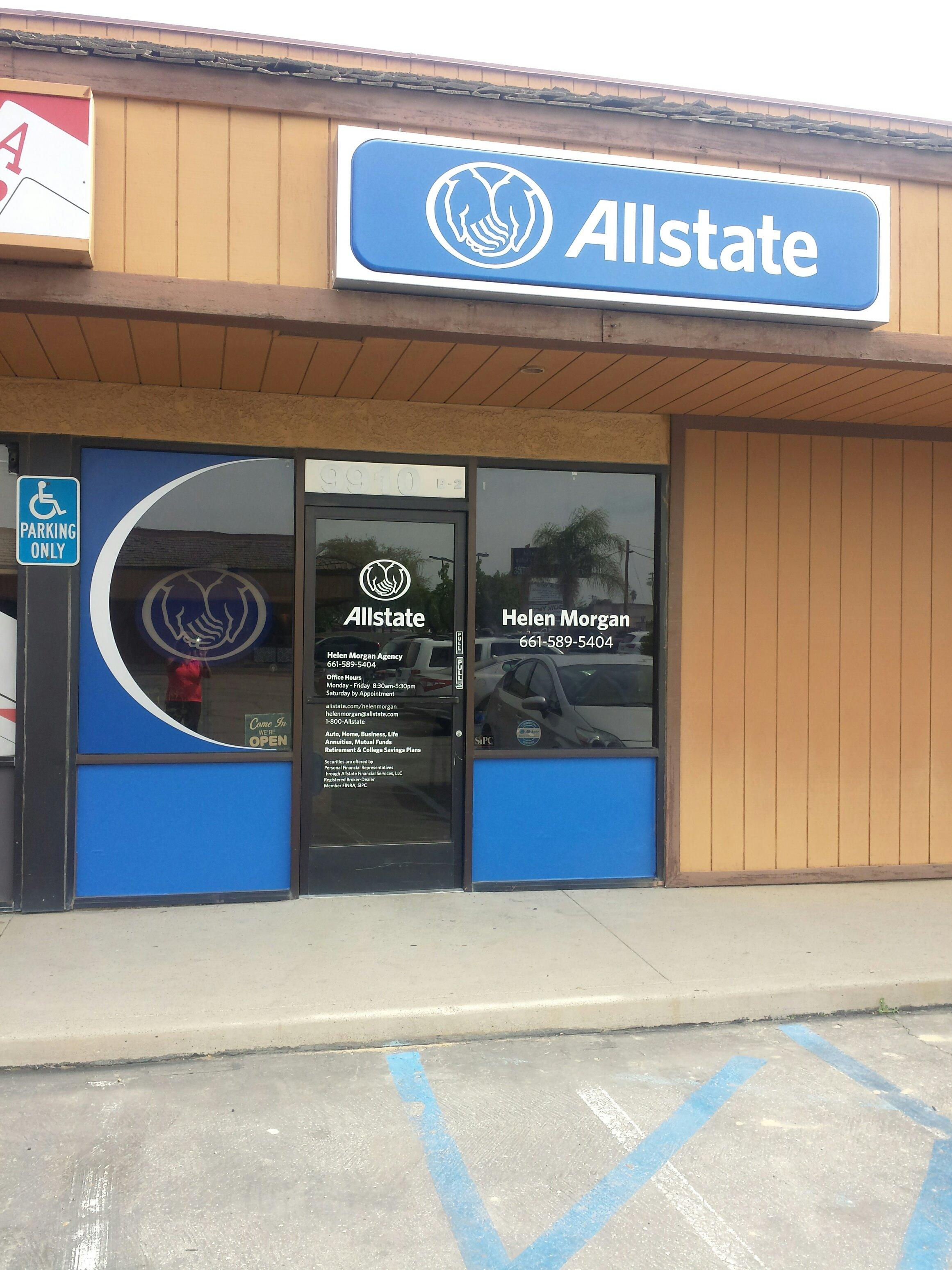 Allstate Auto Insurance Quote Allstate Insurance Agent Helen Morgan 9910 Rosedale Hwy Ste B2
