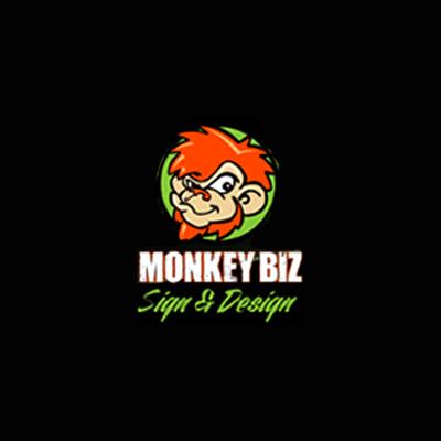 Monkey Biz Sign and Designs image 0
