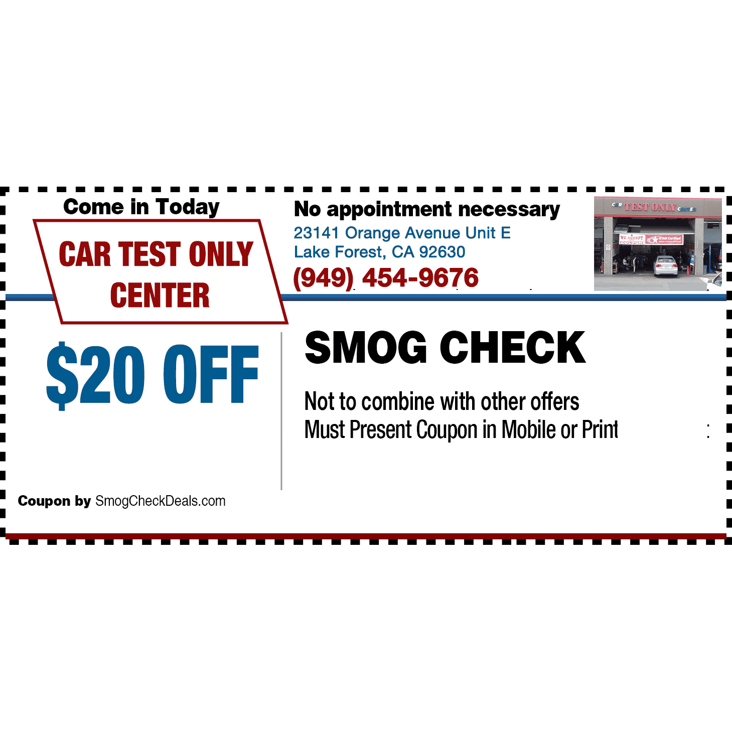 AA Smog Test Only image 2