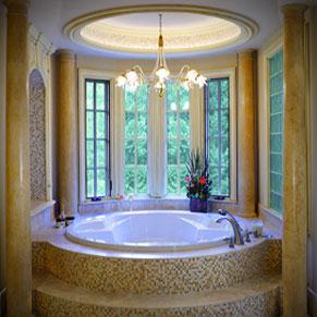 The works in alpharetta ga 30076 citysearch for Bathroom designs with bay windows