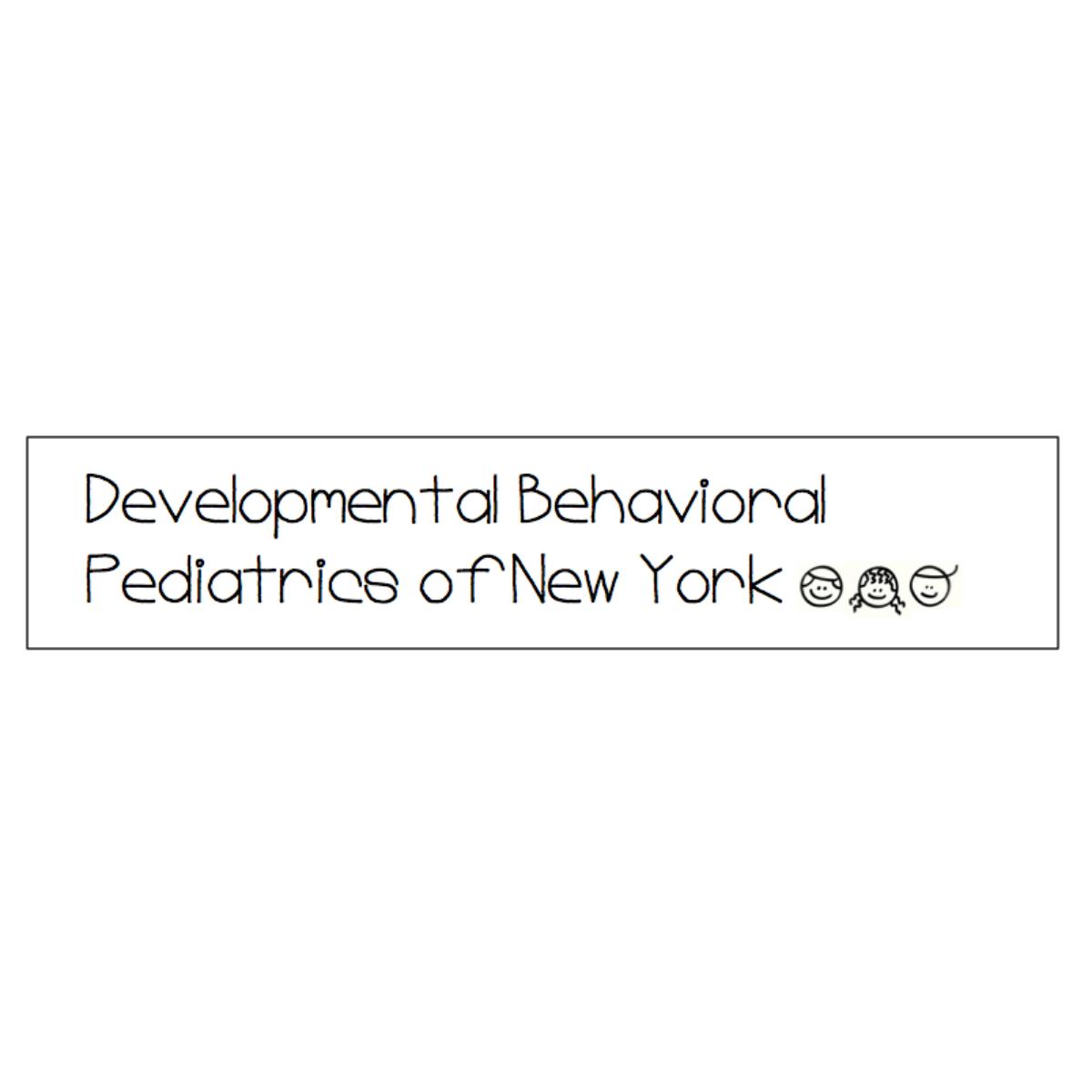 Developmental Behavioral Pediatrics of New York