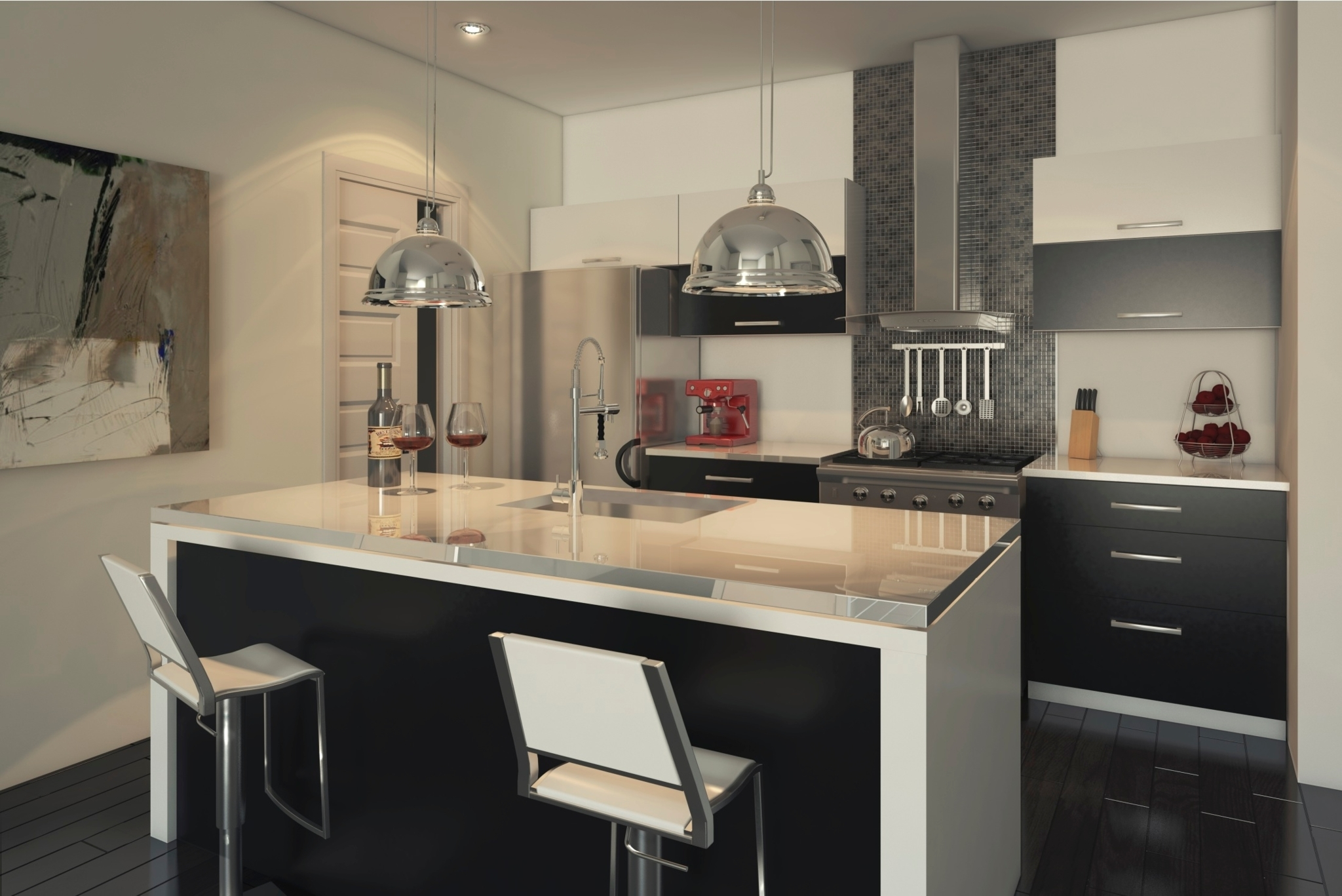 Centre de cuisine design montr al qc ourbis for Decoration cuisine quebec