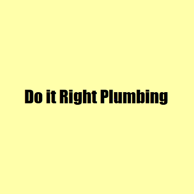Do It Right Plumbing