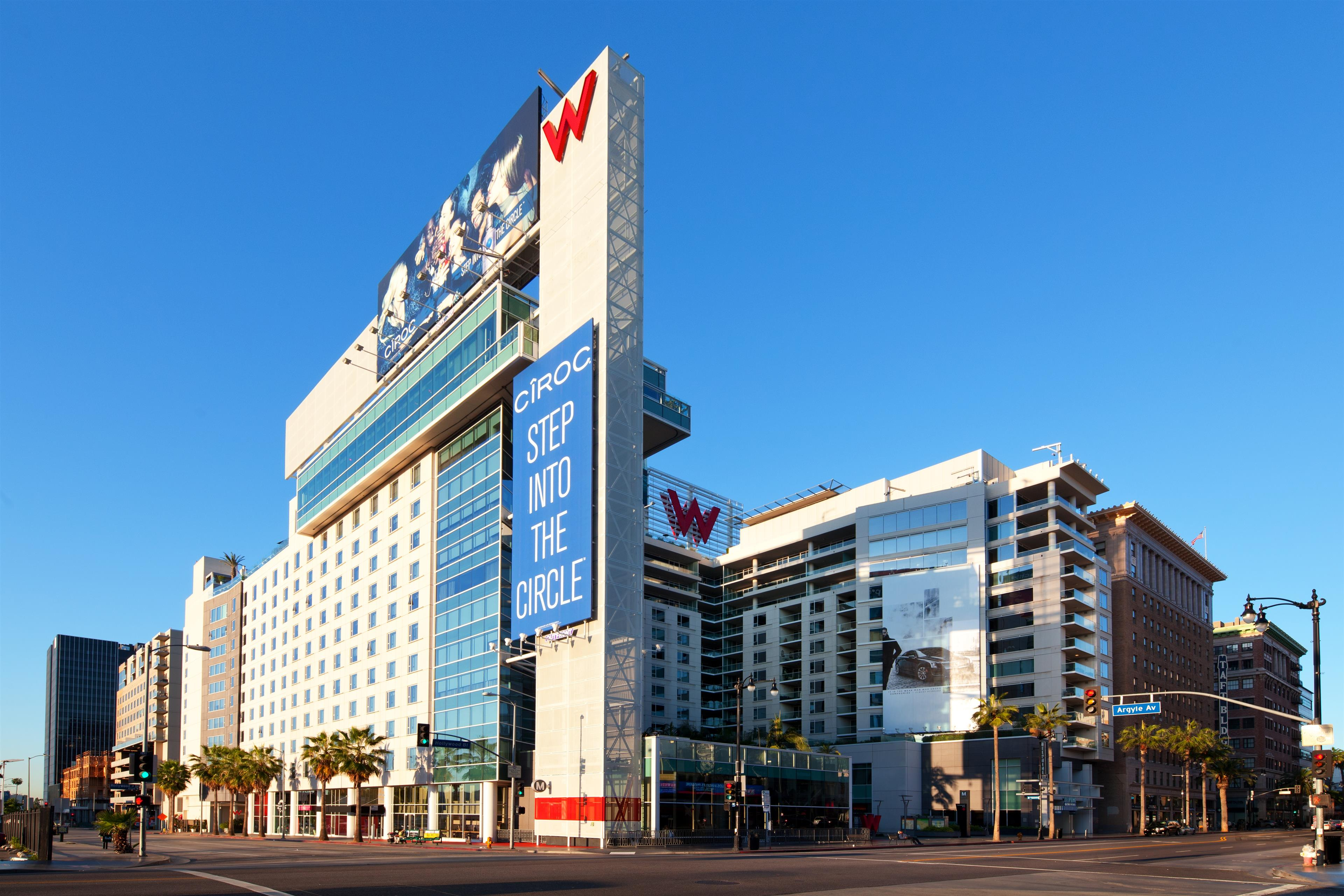 W hollywood at 6250 hollywood boulevard los angeles ca for Hotels 90028
