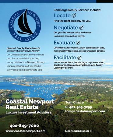 Coastal Newport Real Estate is a full-service Buyer Agency Real Estate Firm. Call us today for any help or questions about your next real estate purchase.