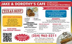 Jake And Dorothy S Cafe Stephenville