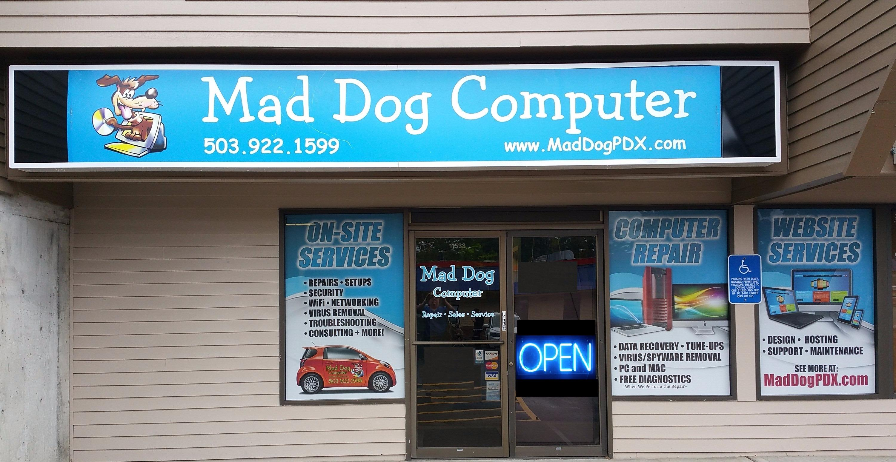 Mad Dog Computer Repair and Services image 0