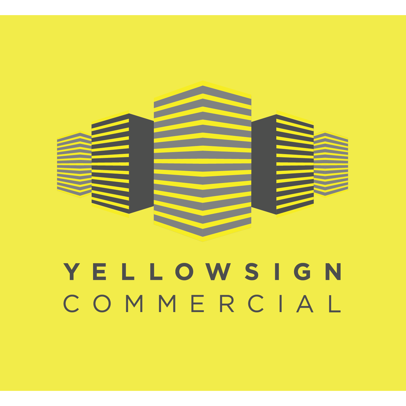 Yellow Sign Commercial