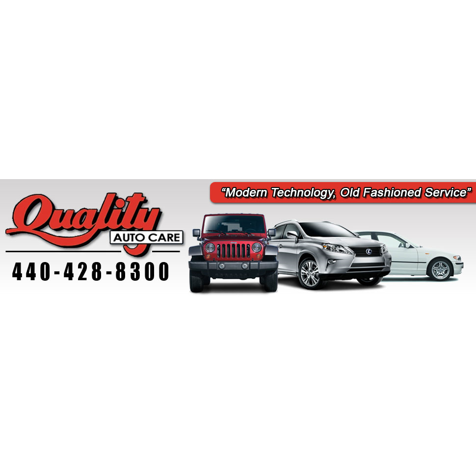 Quality Auto Care, Inc - Madison, OH - General Auto Repair & Service