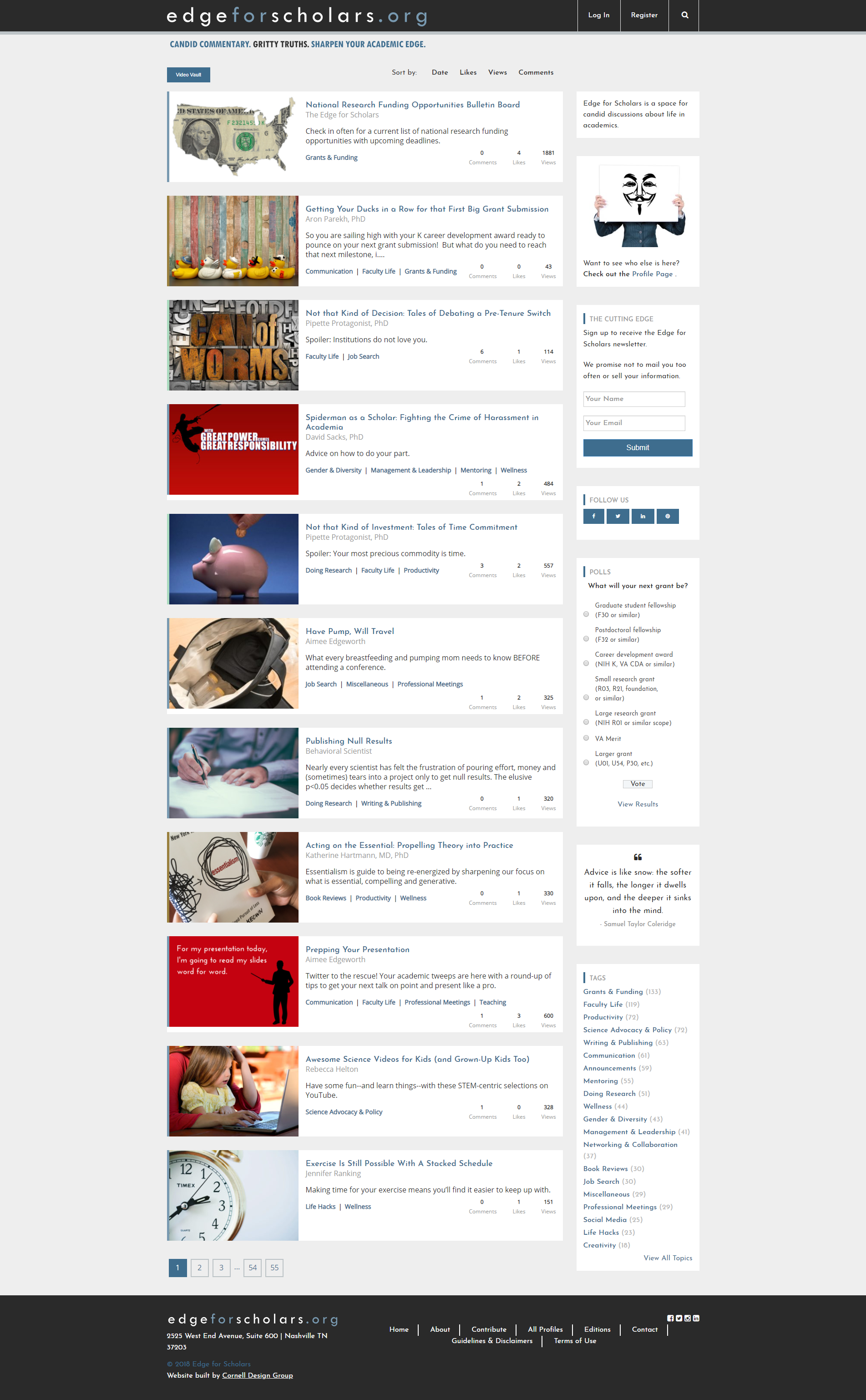 Cornell Design Group - WordPress Web Design & Maintenance