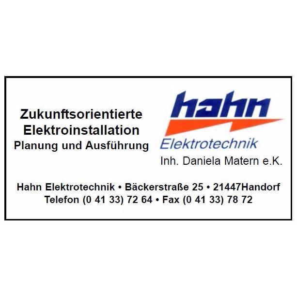 Hahn Elektrotechnik Inh. Daniela Matern e.K.
