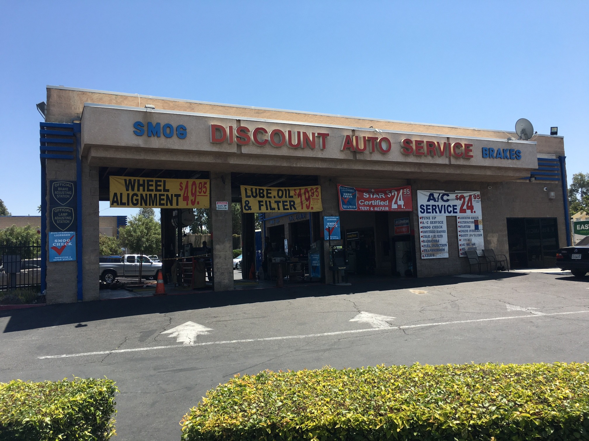 Discount Auto Center 4811 Van Buren Blvd Riverside Ca
