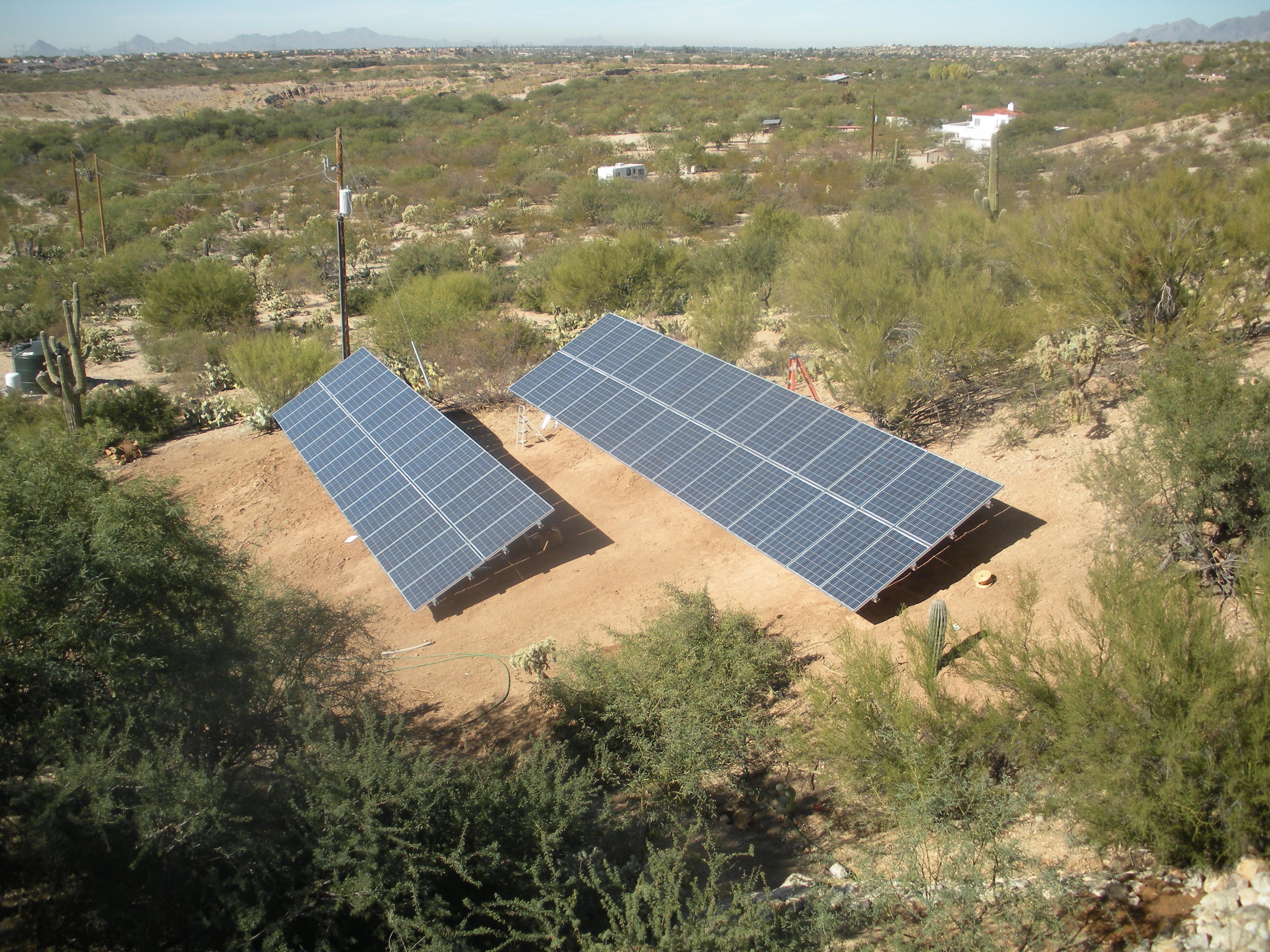 Old Spanish Trail Ground Mount Residential Solar System