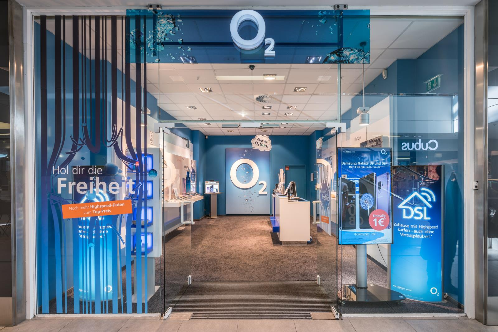 o2 Shop, Hamburger Str. 37 in Hamburg