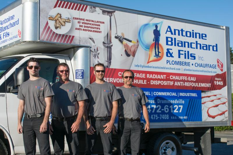 Blanchard Antoine & Fils Inc à Drummondville