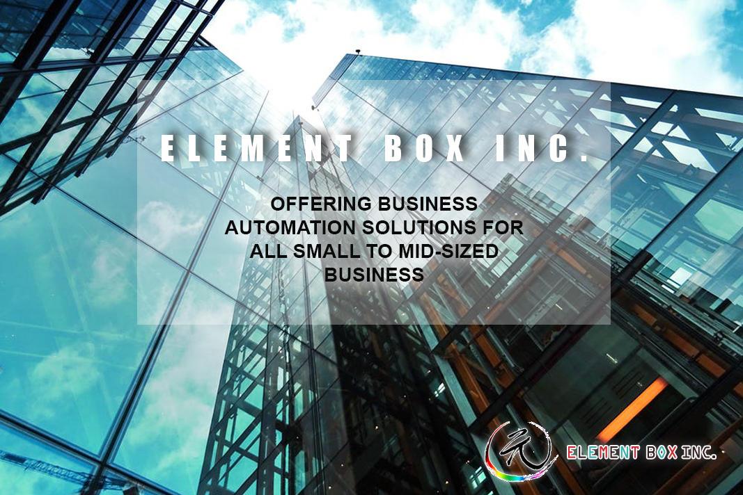 Element Box Inc 信用卡機/安全攝像機/報警器/商業顧問 image 1