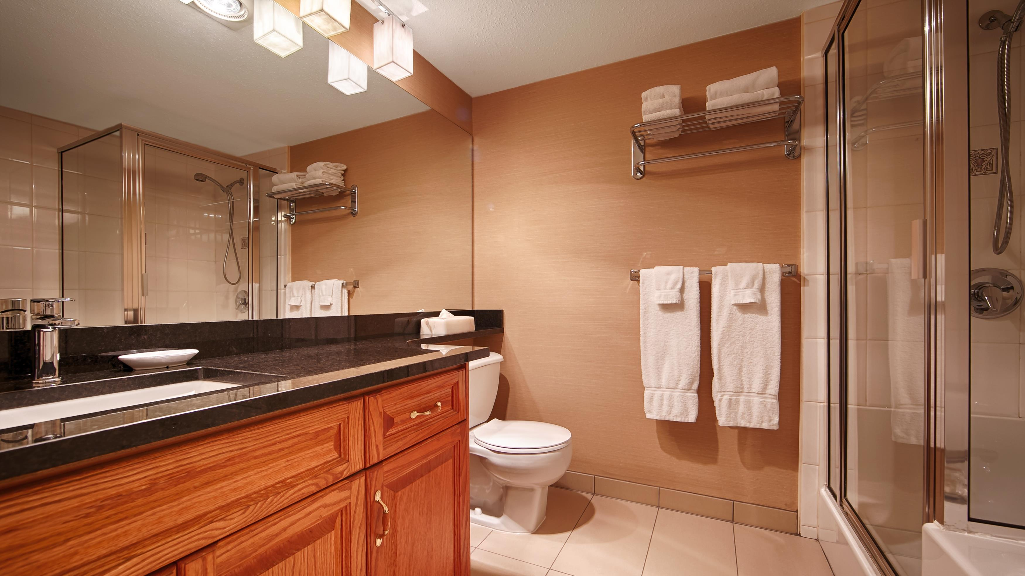 Best Western Plus Mission City Lodge in Mission: Guest Bathroom