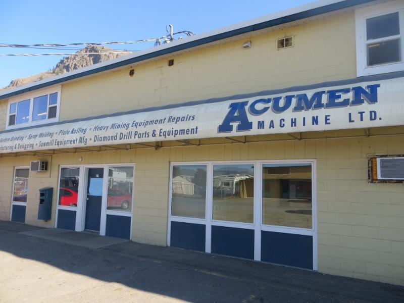 Acumen Machine Ltd in Kamloops
