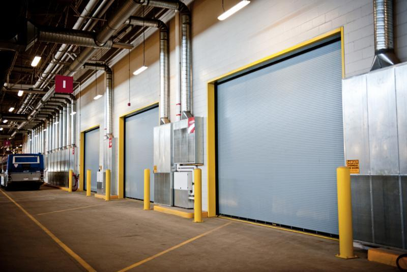 Creative Door Services in Saskatoon: Interior and exterior warehouse and facility solutions.
