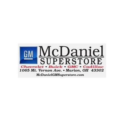 Mcdaniel gm superstore 1065 mt vernon ave marion oh auto for Mcdaniel motors marion ohio