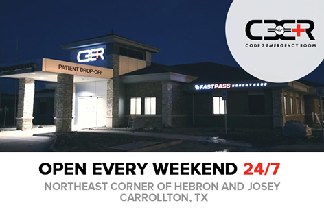 Code 3 Er And Urgent Care 4228 N Josey Lane Suite 100 Carrollton Tx Emergency Medical Surgical Service Mapquest