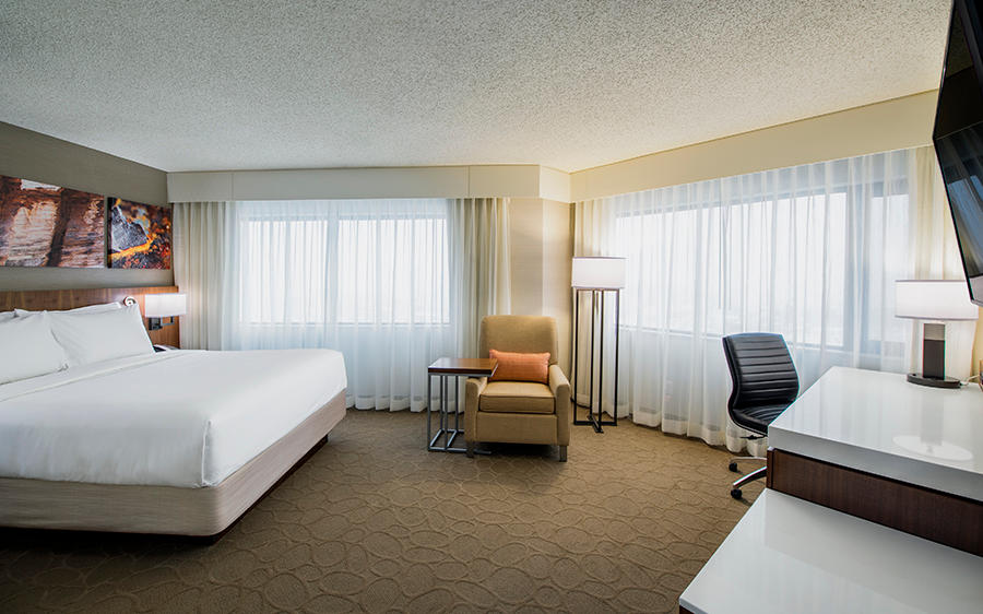 Delta Hotels by Marriott Regina in Regina: Deluxe Room- One Queen Bed