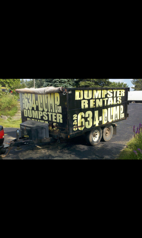 All Size Dumpster Rental 248-634-(DUMP)ster-3867 Demo Junk Removal image 3